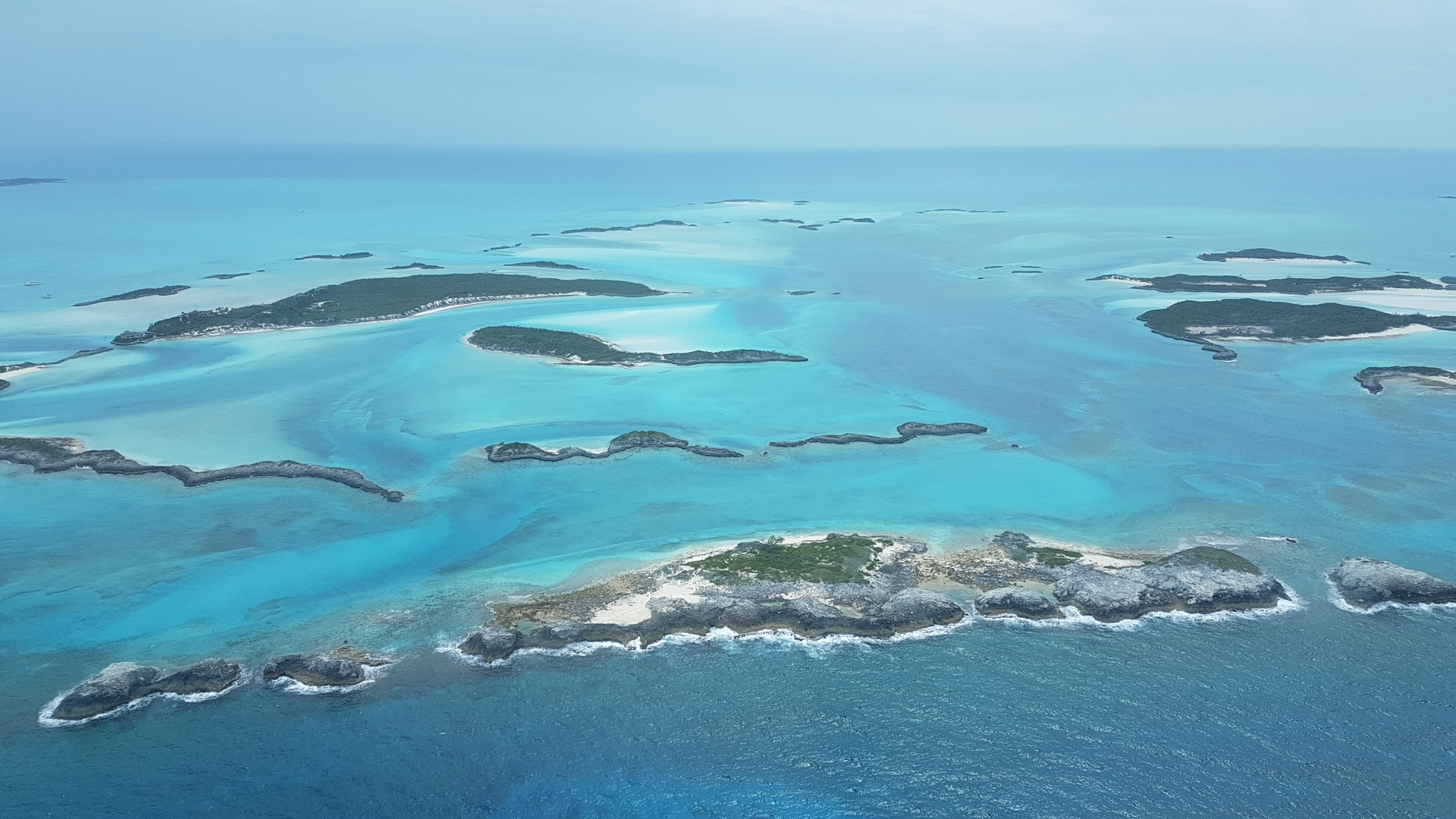 Bahamas from the Air